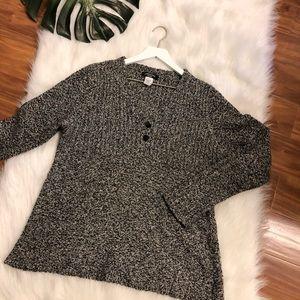 Canyon River Blues Silk Blend Sweater Size Large